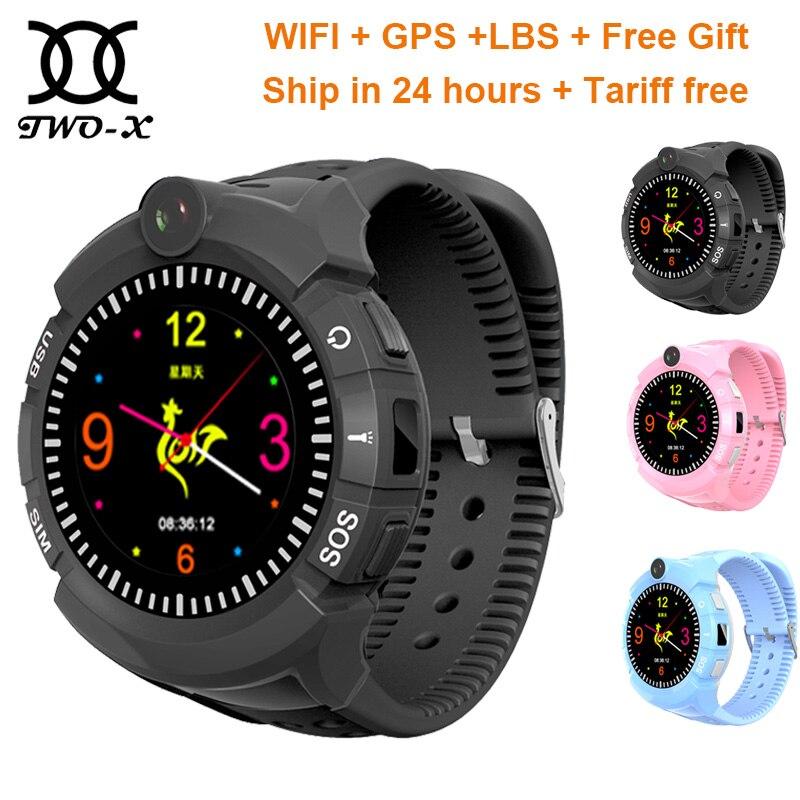 Relógio inteligente bebê Q360 para crianças relógio crianças gps relógio criança inteligente smartwatch VM50 com Câmera WIFI GPS Localização Criança pk Q528