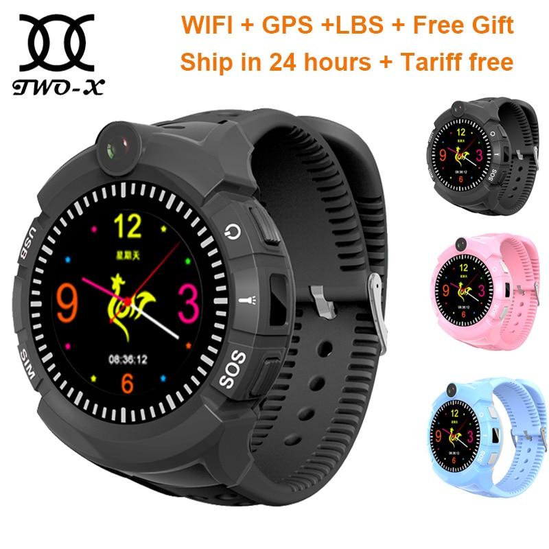 Smart watch baby Q360 for children smart child clock kids gps watch VM50 with Camera GPS WIFI Location Child smartwatch pk Q528 wokka watch q360 pink