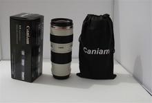 Caniam 70-200 kameraobjektiv-becher cup teleskop kaffeetasse trinken kaffee tee reise thermoskanne tasse geschenk für fotografie freund