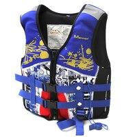 방식으로 생활 조끼 아이 어린이 구명 수영 카약 구명 조끼 재킷 소년 & 소녀 물 스포츠 안전 장비