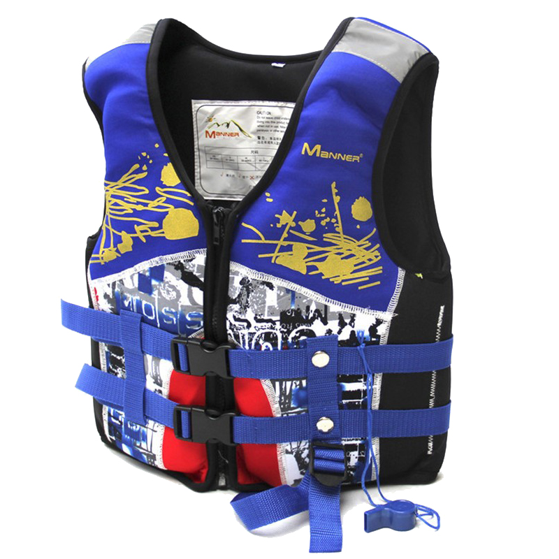 Manner Life Vest for Kids Bambini Life Jacket per nuoto Kayak Life Vest Giacche Boy & Girl Attrezzature per sport acquatici