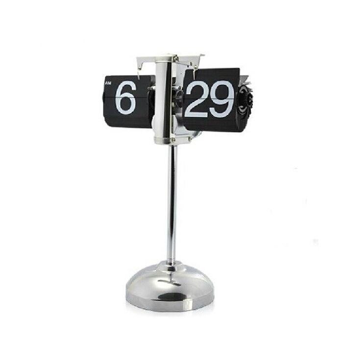 1 шт. Новинка 14-25 дюймов регулируемые по высоте черный флип часы для Книги по искусству украшения дома Напольные часы