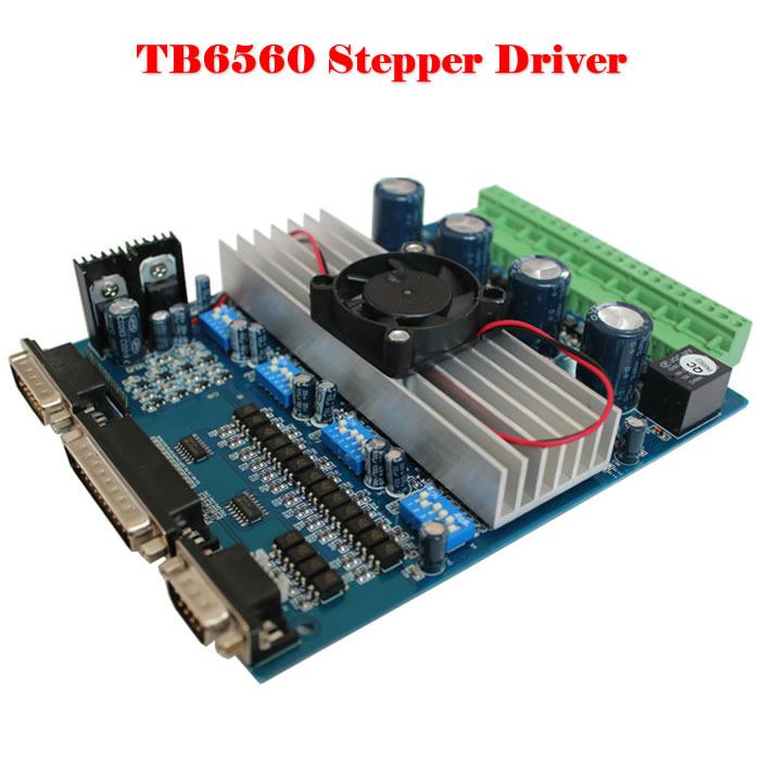 ФОТО cnc mach3 TB6560 four-axis stepper motor drive