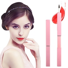 New Professional Makeup Brushes Portable Make Up Brushes for Lip Gross and Lip S