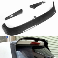 car style For Volkswagen VW Golf 7 VII MK7 carbon fiber rear roof trunk spoiler wing 2014~2016 (not for GTI and R)