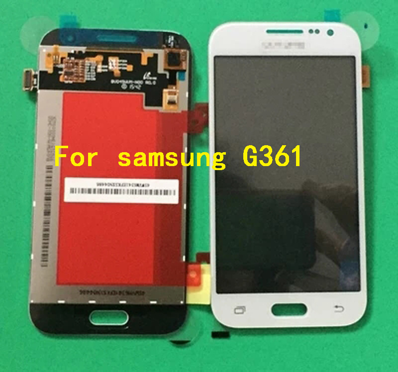 100 New Replacement For Samsung Galaxy Core Prime SM G361F G361H G361 LCD Display Touch Screen