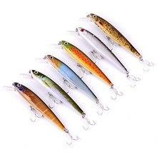 6pcs Jerkbait Wobblers 6 Colors Minnow Lures Iscas Artificial Pesca Leurre Dur Peche Broch Hard Fishing Bait  Fake Fish