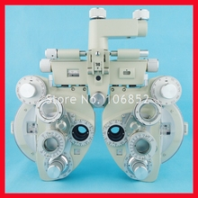 Manual phoropter Optical view tester Vision tester Creamy white color