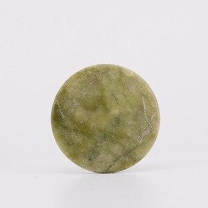 Image 3 - ขายส่งราคา50ชิ้น/ล็อตขนตาเครื่องมือแต่งหน้าธรรมชาติถาดคอนเทนเนอร์รอบหยกหินขนตากาวเครื่องมือช้ากาวให้แห้ง