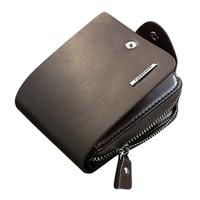 5 Pcs Of Baellerry Luxury Mens Leather Bifold ID Card Holder Billfold Purse Wallet Handbag Clutch