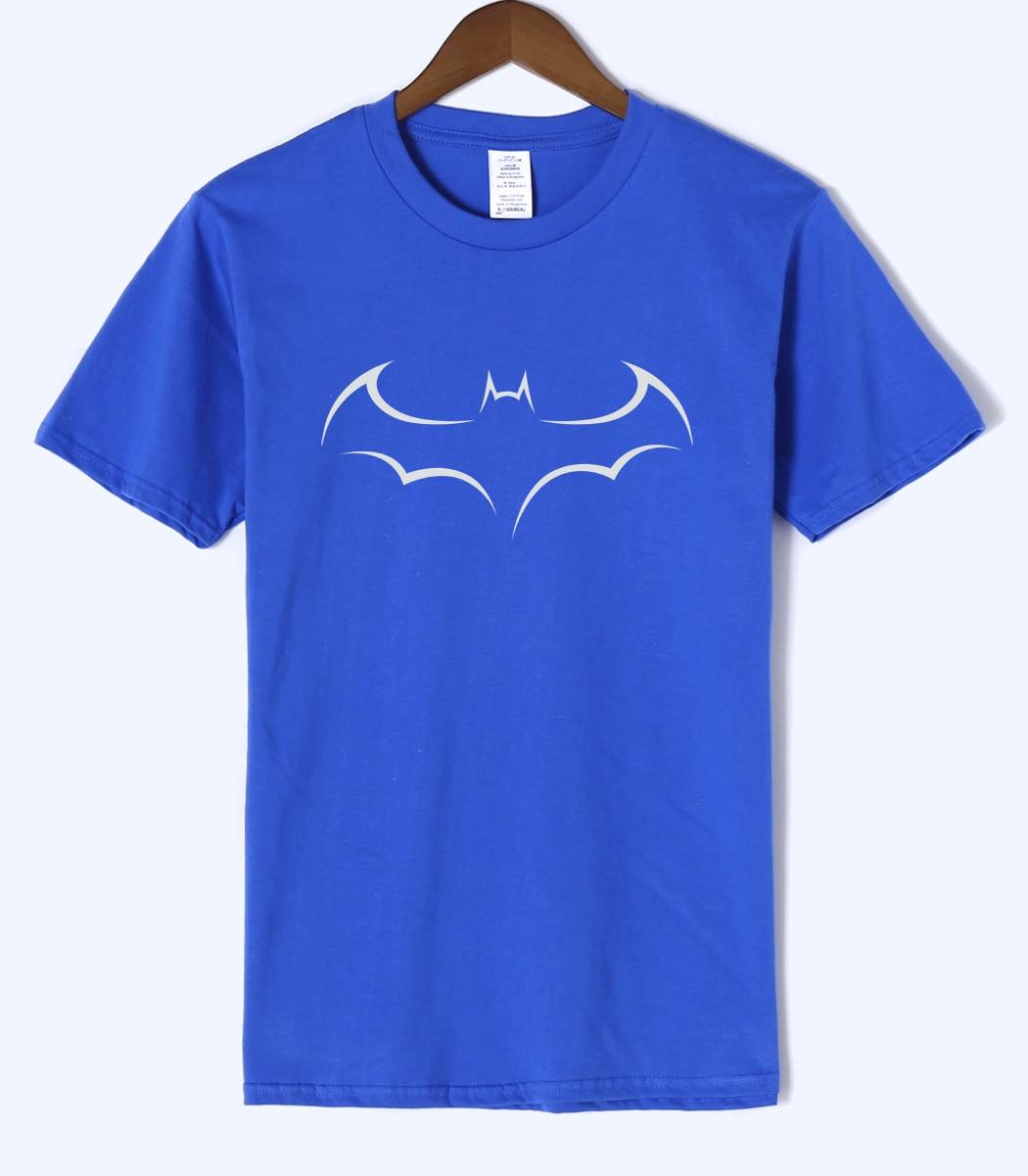 Batman Stick Figures Printed Men's T Shirts 2019 Summer 100% Cotton Casual T-Shirt Men Short Sleeve O-Neck Cartoon TShirt S-XXXL