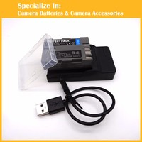 Rechargeable Camera Battery Charger Set EN EL3E EL3e For Nikon D300S D300 D100 D200 D700 D70S