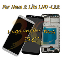 For Huawei Nova 2 Lite LND L22 ( Not For Huawei Nova Lite 2 ) Full LCD DIsplay + Touch Screen Digitizer Assembly + Frame Cover