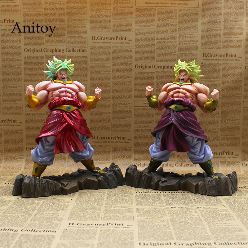 Dragon Ball KAI Broly Limited 2 стиля PVC Фигурки Коллекционная модель игрушки 26 см KT3625