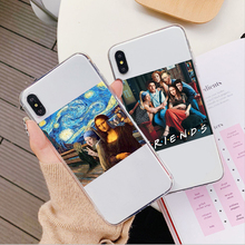 цена на Mona Lisa Van Gogh funny Phone Case For iPhone X XR XS MAX Art Paintings The Birth Of Venus Cover For iPhone 6 6s 7 8 Plus Case