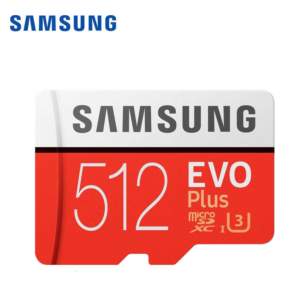 SAMSUNG micro sd Memory Card 128GB EVO plus U3 512GB 256GB 64gb Class10 Micro SD Card 32GB microSD UHS I sd TF Card for phone in Micro SD Cards from Computer Office