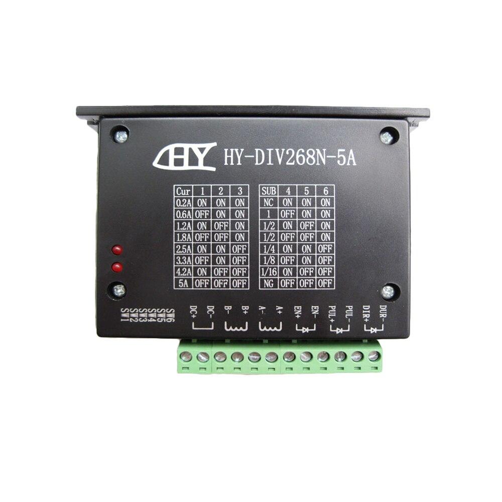 Heißer verkauf CNC steuerung Einzigen Achse TB6600 0,2-5A Zwei Phase Hybrid Schrittmotor Fahrer nema 17,23, Controller