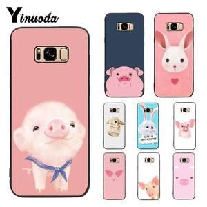 Yinuoda чехол для Galaxy S9 милый поросенок красочные милые аксессуары для телефона чехол для Samsung Galaxy S4 S5 S6 S7 S8 S9 S6 край S7 край