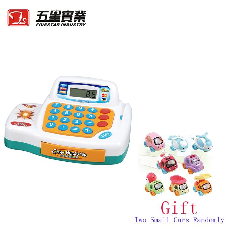 FS TOYS 1 SET 34445 Cash Register Toy cash machine kids plastic cash re