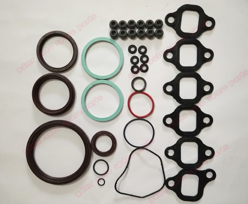 Engine Rebuilding Kits 1HZ gasket set repair overhaul kit 04111 17011 for toyota Coaster Land Cruiser 4164CC 4.2TD 12V 1990 -in Engine Rebuilding Kits from Automobiles & Motorcycles    3