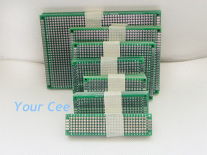 Image 4 - Двухсторонняя медная печатная плата 5x7 8x12 7x9 6x8 4x6 3x7 2x8 см, 35 шт.
