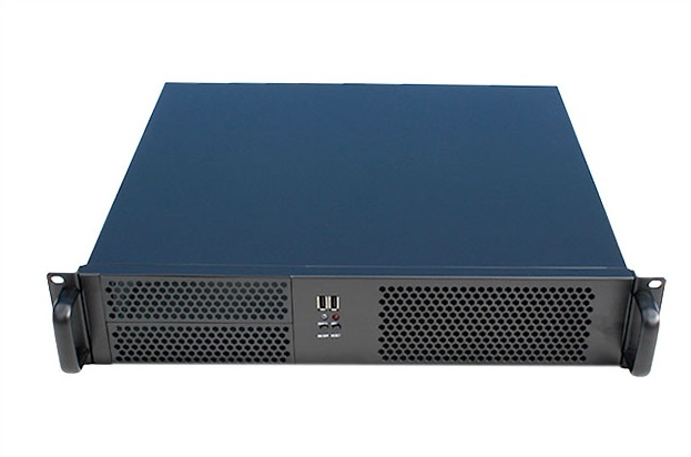 2U390 short computer case 2 USB server firewall industrial 19-inch rack Chassis arya дорожка на стол serena 45х150 см