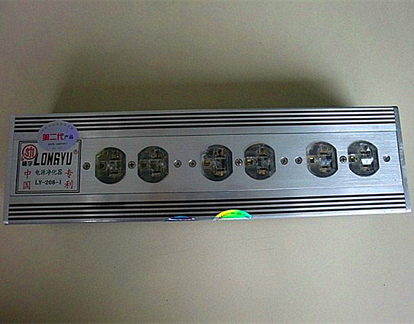 LONGYU LY-208-1 AC 6 Way / Outlet Socket Equipment Mains Power Supply Purifier Filter Protection Sound system Energy Saving куплю подшипник 6 208 б1