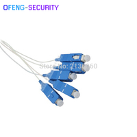 Fiber Optic PLC Splitter 1*4 SC/UPC 0.9mm Steel Tube 1x4 Mini   1X2 steel type|Transmission & Cables|   -