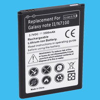 1PC Replacement Battery 3500mah For Samsung Galaxy Note2 High Quality