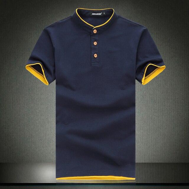 Бесплатная доставка новый 2017 летний стиль solid polo shirt men плюс размер 6xl slim fit поло hombre с коротким рукавом camisa polo/DPL1