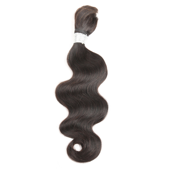 Sleek Pre-Colored Human Bulk Hair For Braiding Body Wave Remy Brazilian Braiding Human Hair Bulk Free Shipping