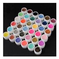 36 Colors/ Set Sequins Nail Gel Nail Extension Gradient Sequins 5mL Glitter DIY Nail Art Tips Gel Design Nail Gel