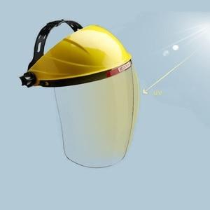Image 4 - Safety Cutting Polish Mask Helmet Full face Protective Transparent PC Anti Chemical Oil Splash Dust UV Resistant Pesticide Spray