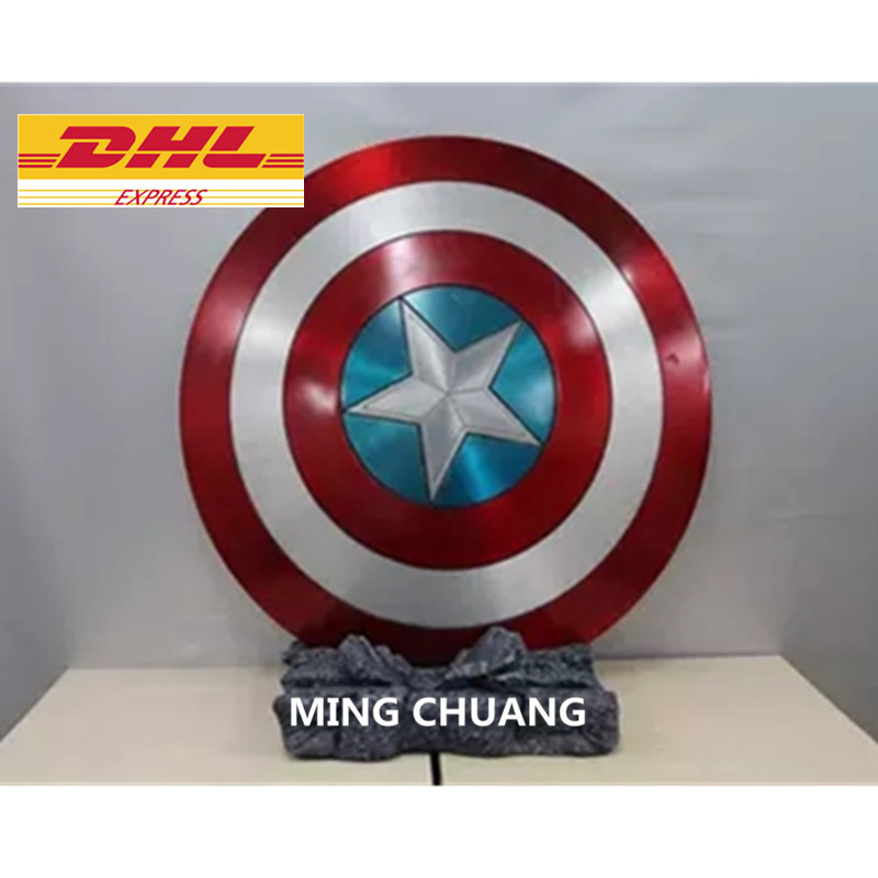 Avengers Infinity War Superhero Captain America Shield 1:1 LIFE SIZE Action Figure Collectible Model Toy D294Avengers Infinity War Superhero Captain America Shield 1:1 LIFE SIZE Action Figure Collectible Model Toy D294