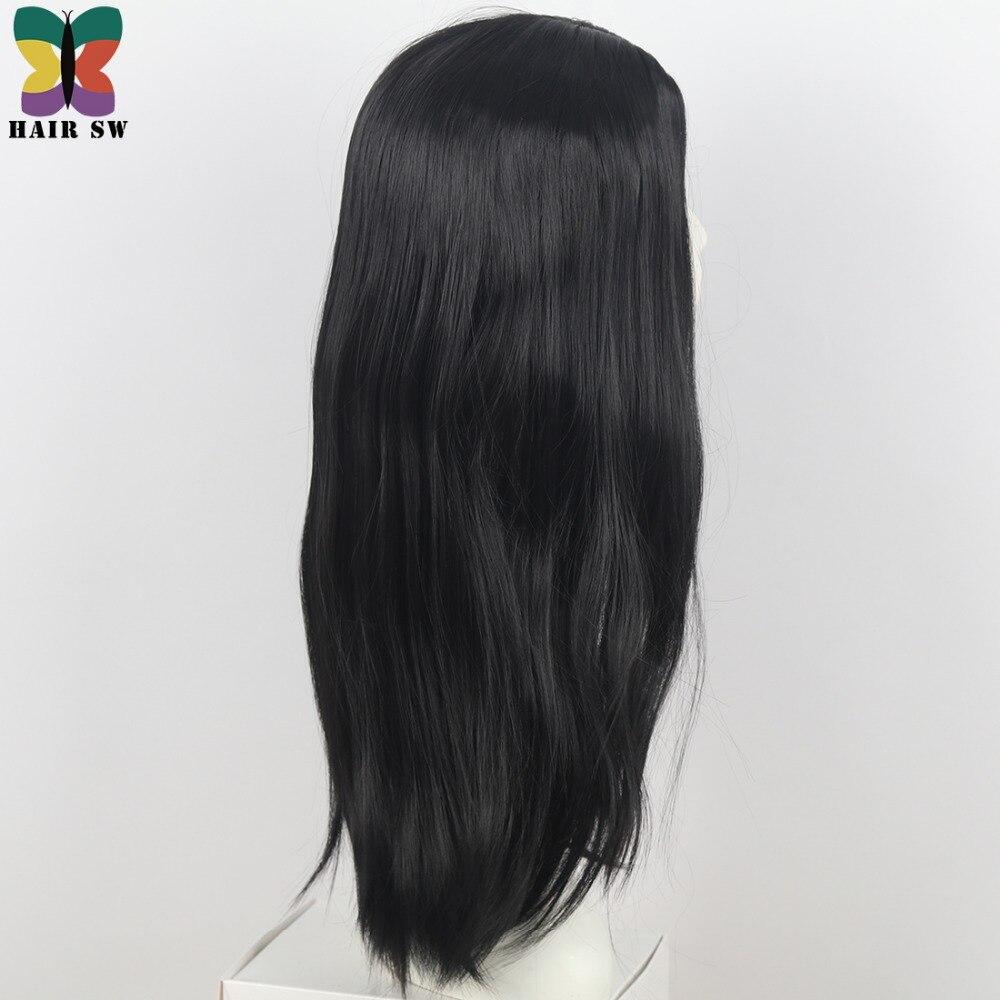 HAIR SW Långt Hår Värmebeständigt Rett Cosplay Wig Dräkt NO - Syntetiskt hår - Foto 4