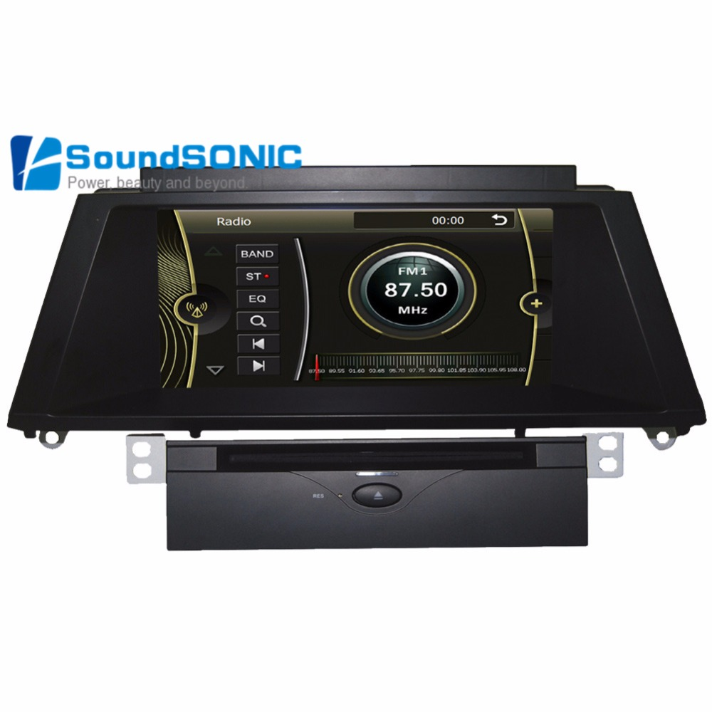YOKOTRON 10 25 Android 4 4 Car Player for BMW X5 X6 CIC 2011 2013+GPS
