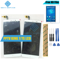 For PPTV KING 7 7S LCD Display TP Touch Screen Digitizer Assembly 6 0 KING 7