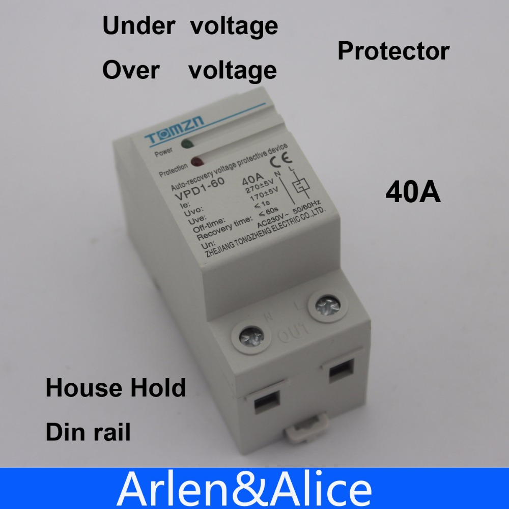 Buy Voltage Protector And Get Free Shipping On Circuit Breaker Surge Protector220v Mini