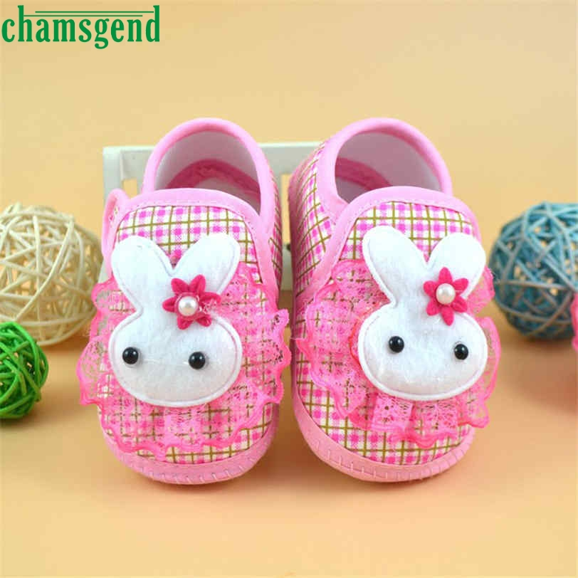CHAMSGEND baby shoes loved kids Cute Newborn lovely Girl Boy Soft Sole Crib Toddler Shoes baby girl shoes drop ship S25