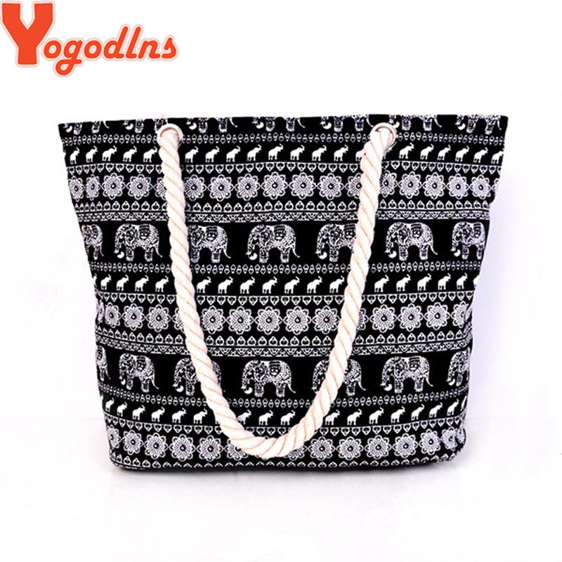 2017 high quality Women's Bag Canvas Handbags Fashion Large Beach Bags Shoulder Bag many styles to choose drop shopping