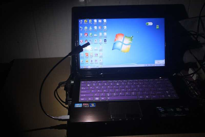 Mini super brilhante usb teclado luz notebook computador móvel chip de alimentação led nightlight frete grátis