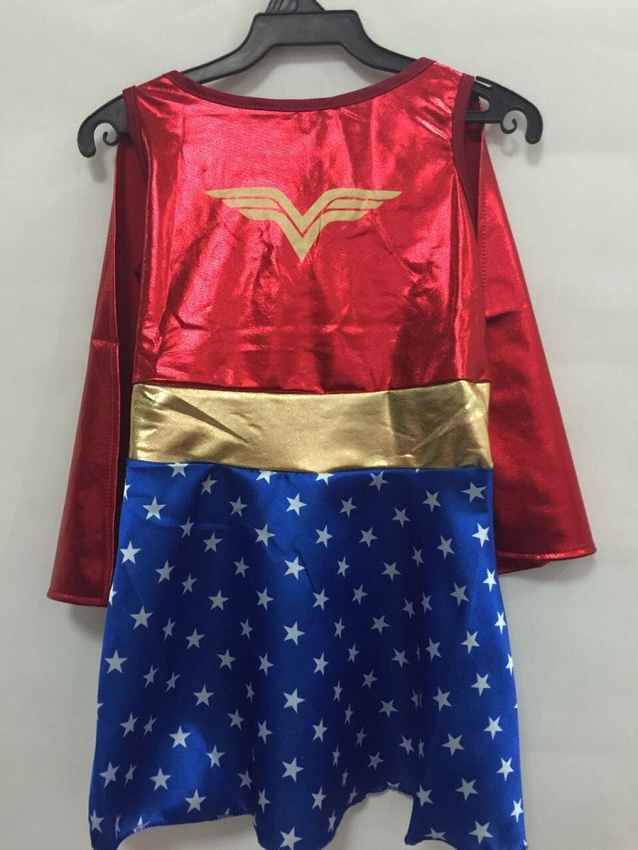 Kids Halloween Costumes For Girls Wonder Woman Costume Dress Girl Anime Cosplay Clothing Disfraces Carnaval