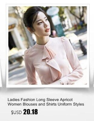7504cfccf جديد أزياء المرأة طويلة الأكمام البلوزات قميص ل سيدات الأعمال مكتب سيدة  العمل ارتداء الصينية حجم: SML XL XXL XXXL اللون: أبيض ، الأرجواني الوزن:  حوالي 0.25 ...