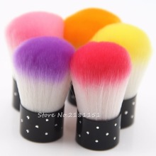 Hot selling New Nail tools Brush For Acrylic & UV Gel Nail Art Dust Cleaner nail dust brushes Free Shipping