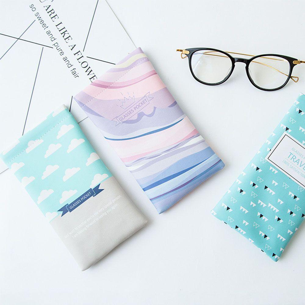 1 Stück Hot Faux Leder Sonnenbrille Brillen Fall Protable Brillen Schutz Tasche Tasche Mode Zubehör Ungleiche Leistung