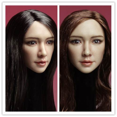 1/6 scale figure accesories Asia beauty head sculpt carved 12 Action figure doll.not include body;clothes and other x trend lr 8300i