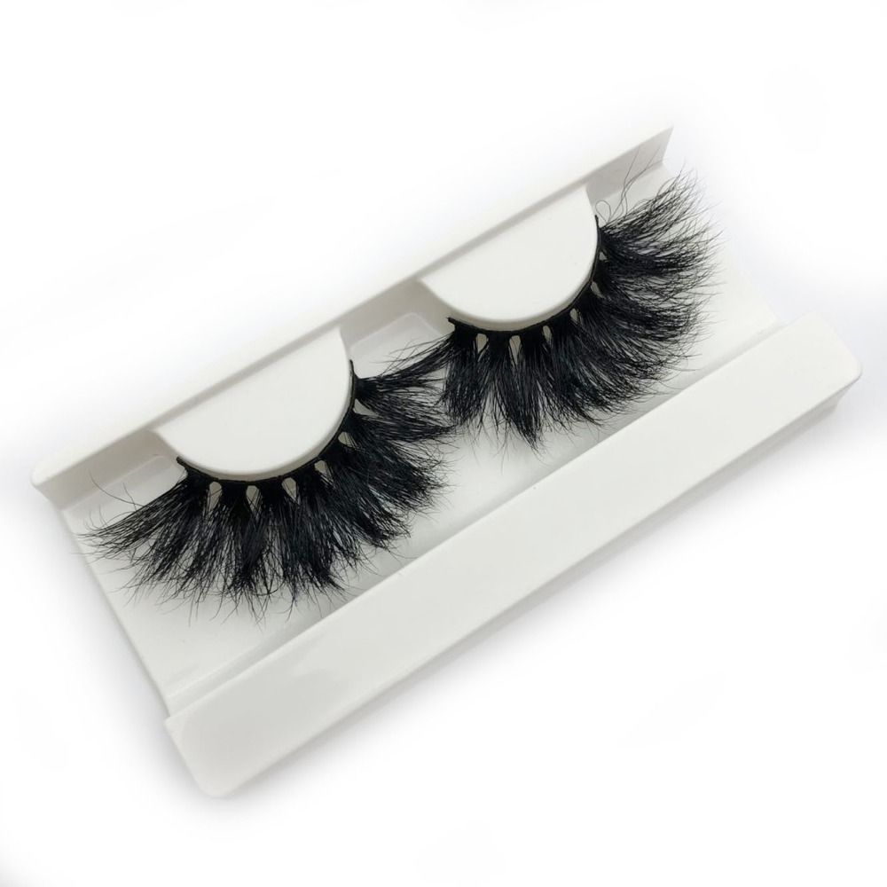 c27e4ff436d Buzzme New arrival 3D mink lashes 25mm extra long mink strip fur handmade  eyelashes wholesale price-in False Eyelashes from Beauty & Health on ...