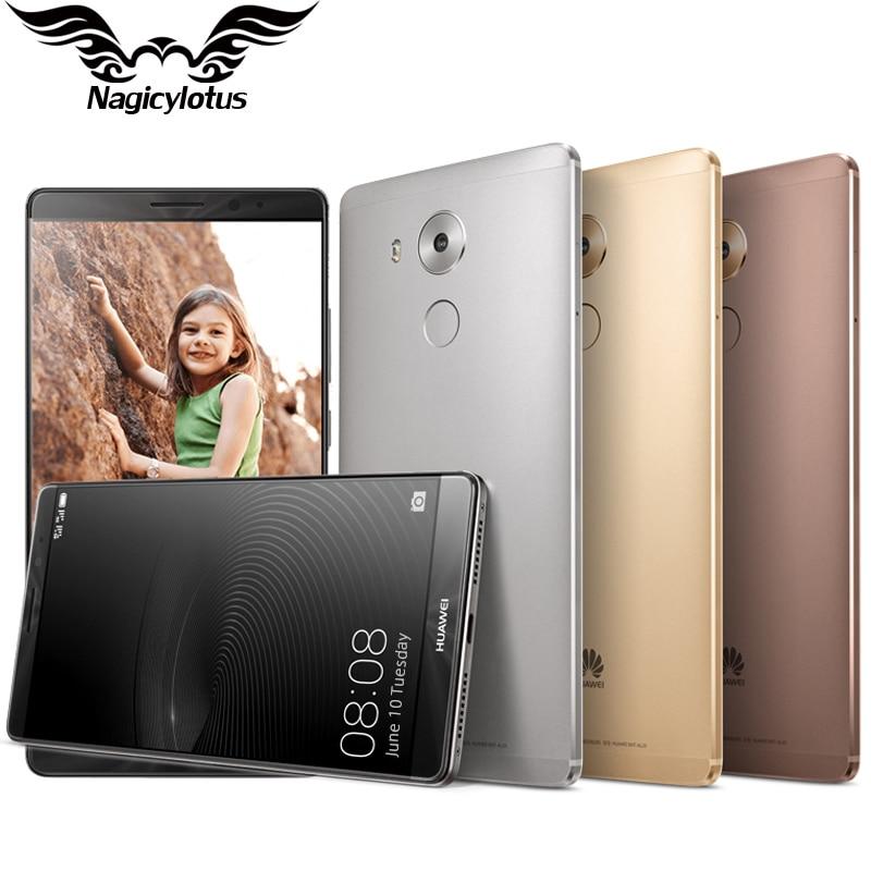 Original HUAWEI Mate 8 Mobile Phone Kirin 950 Octa Core 6.0″  4GB RAM 64GB ROM FDD-LTE Dual SIM Fingerprint 1920*1080px 16.0MP