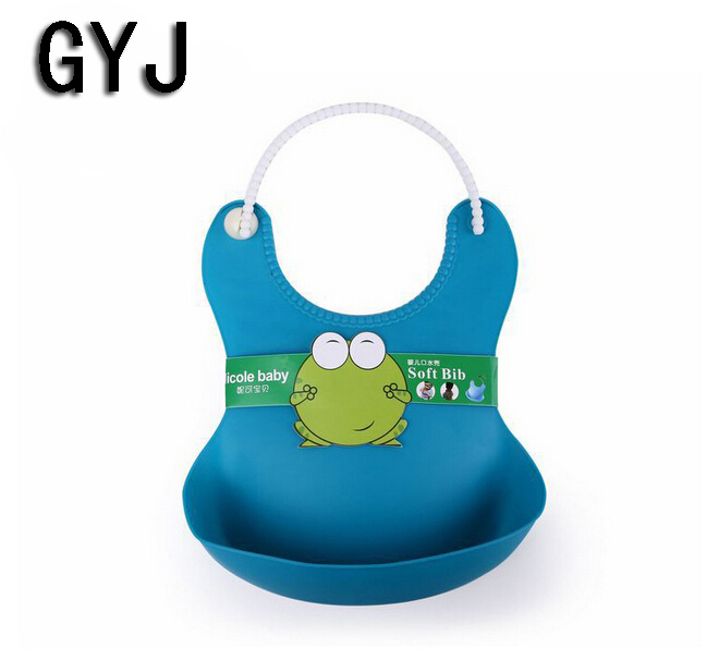 baby infant silica gel baby bibs kids placemat silicone waterproof silicone bib baby babador toddler pinafore infant silica gel