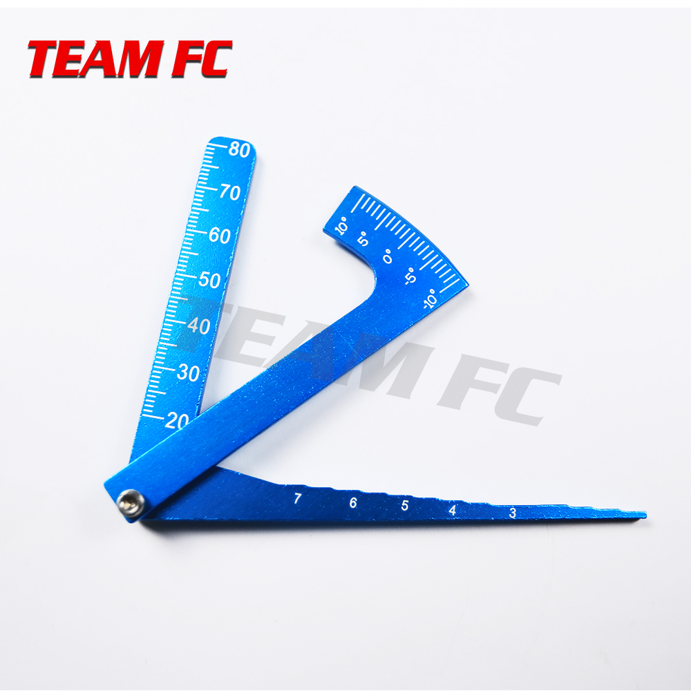 Parts & Accessories Adjustable Ruler Measure Rc Car Height & Wheel Rim Camber Tools For 1/10 1/8 Hsp Hpi Rc On-road Car S72 Complete In Specifications